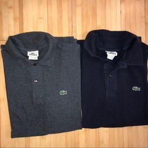 Bundle Lacoste Short Sleeve Polo size 7 / XL